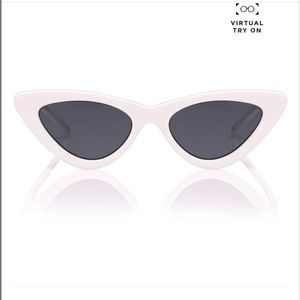 American Eagle White Cat Eye Sunglasses